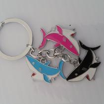 Tiburones Precioso Llavero De Dijes Acero Inoxidable 1128
