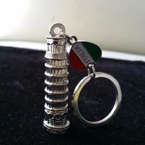 Torre De Pisa Italia Souvenir Precioso Llavero Metalico 1085