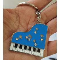Piano Fino Y Elegante Llavero Metálico De Piano 1225