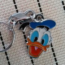 Pato Donald Precioso Llavero Metalico Walt Disney 1089