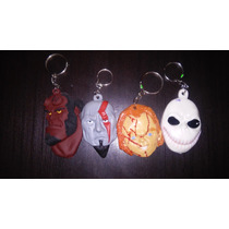 Jack Skellington, Chuky, Kratos, Hellboy