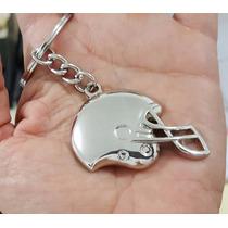 Casco Futbol Americano Precioso Llavero Metalico Casco 1238