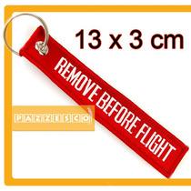 Llavero Remove Before Flight Aviacion Vuelo Tuning Avion