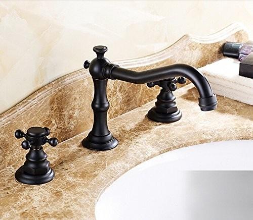 Lavabos Para Baño México:Llaves Para Baño Grifo Lavabo Estilo Antiguo Bronze Hm4 – $ 1,68000