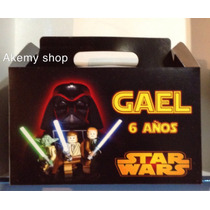 Lego Star Wars 50 Cajas Personalizadas Eventos Fiesta