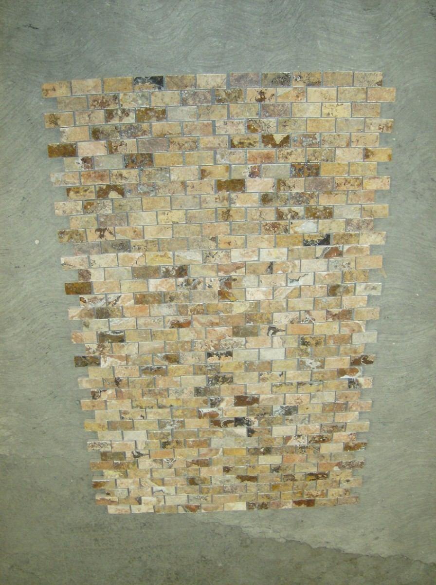 Tipos De Loseta Para Baño:Loseta Marmol Travertino Acabado Rustico Ideal P/fachadas – $ 5000 en