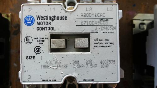 Lote contactores y arrancadores joslyn clark westinghouse - Westinghouse muebles ...