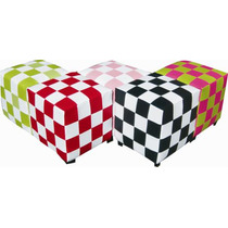 Puff Taburete Sillon Lounge Domino Varios Colores