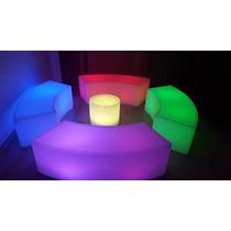 Salas Lounge Vip Iluminadas Puff P/bares Antros