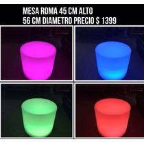 Mesa Iluminada Rgb Salas Lounge