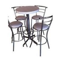 Mesas Bar Periqueras Sillas Muebles Salas Lounge Minimalista
