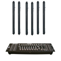 Kit 6 Barras De Leds 8 Secciones Digital Gratis Dmx