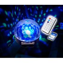 Esfera Luz Disco Entrada Usb Sd 2013 Gratis Control Ymemoria