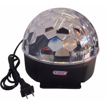 Esfera De Leds Luz Magica Crystal Ball Destellos Automatico