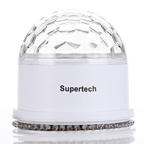 Mini Luz Led Iluminacion Gira 2 En 1 Rgb 10w Dj Supertech