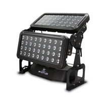 Wash Doble Angulo/panel Case Led 18*10w Rgbw - Sun Star