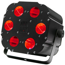 Luz Led Cubo Con 6 Cañones Rgb Aumento 4x Energia Linkeable.