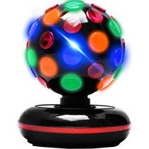 Esfera Giratoria 360 Ambos Sentidos Rgb Y Efecto Disco Xaris