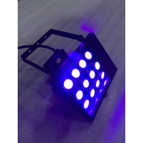Lampara Luz Negra Led Uv Panel Potentisima 25 Watt Violeta