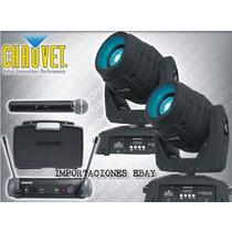 Chauvet Intimidator Spot Led 350 + Shure Pgx24/sm58