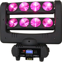 Cabeza Movil Beam Doble Giratoria Led Multicolor Spider