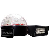 Gran Combo Antrolite (esfera De Led + Estrobo)