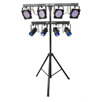 Paquete Luces Led Chauvet 4 Play Y 4 Bar