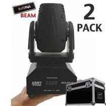 2x Kit Mini Beam Led En Case