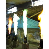 Maquina De Fuego Gas Lp / Colores / Dmx