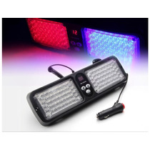 Luces Led Policía Xprite Red & Blue Sunshield High Power