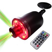 Laser Led Disco Audioritmica Dj Control Giro 360