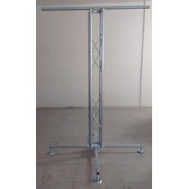 Estructura+base+soporte Luces Acero Galvanizado 20x20 1 1/4