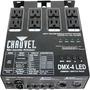 Chauvet Dmx-4led 4 Canales Dimmer