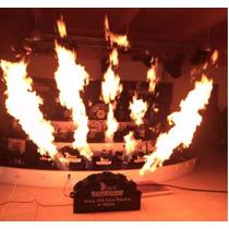 Pirotecnia Maquina De Flama Para Escenario 5 En 1