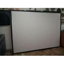 Lienzo P/ Pantalla De Videoproyeccion Mod Tl 100 De 2x1.5m.