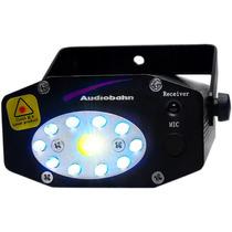 Laser Marca Audiobahn 3 Colores Luz Negra 200mw Audioritmico