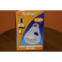 Foco Recargable De 11 Led Tectron C101 30w