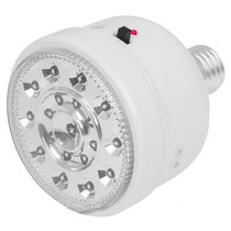 Lampara Emergencia 19 Leds Base E26 2w 5.5 Hrs Voltech 46219