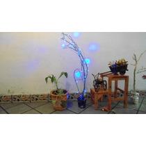 Árbolito Navideño Ramas Naturales 100 Luces Led 110cm Brilla