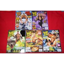 Wwe Revistas Lote De 5 John Cena Randy Orton Undertaker