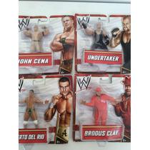 Figuras Wwe: John Cena - Undertaker - Roberto De Rio - Clay