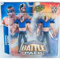 Wwe Road Warriors Hawk & Animal Battle Packs 34