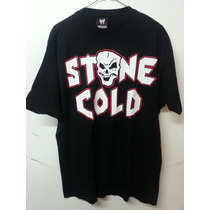 Wwe Playera Authentic Stone Cold Steve Austin (talla 2xl)