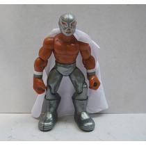 El Santo - Luchador De Plastico - Muñeco Lucha Libre