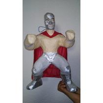 Piñata Artesanal Del Santo Luchador