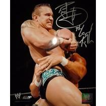 Fotografia Autografiada Randy Orton Wwe Legend Killer