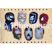 Máscaras De Luchadores $36.00, Evento,fiesta!!tamaño Adulto