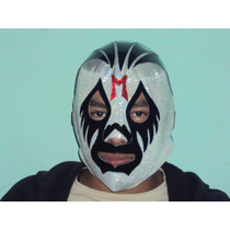 Mascara De Luchador Mil Mascaras P/adulto Semiprofesional