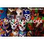 Mascaras De Luchadores- Mayoreo Esponja