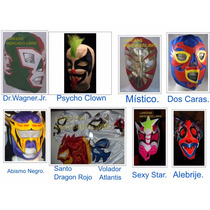 Diez Mascaras Lucha Libre Infantil Modelos Eventos Fiestas
